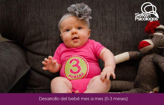 Desarrollo del bebé mes a mes