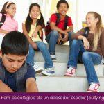 Perfil psicológico de un acosador escolar (bullying)